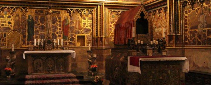 Капелла святого Вацлава в соборе святого Вита