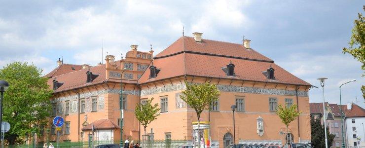 Замок Простейов