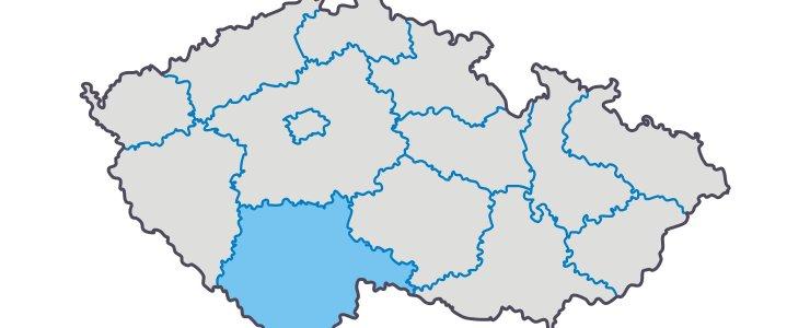 Южночешский край