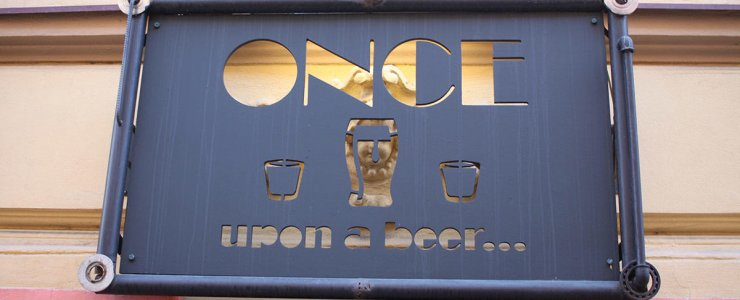 Пивная Once upon a beer