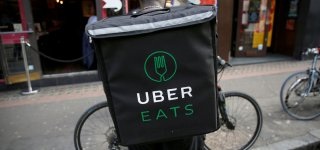 Uber eats в Праге