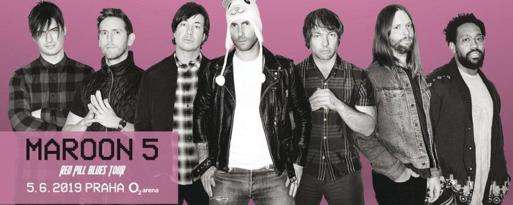 Концерт Maroon 5 в Праге