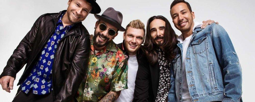 Концерт Backstreet Boys в Праге