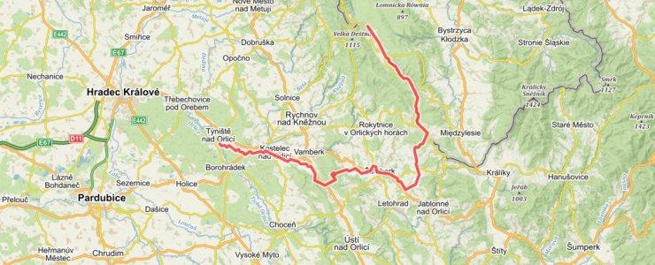 Река Дивока-Орлице