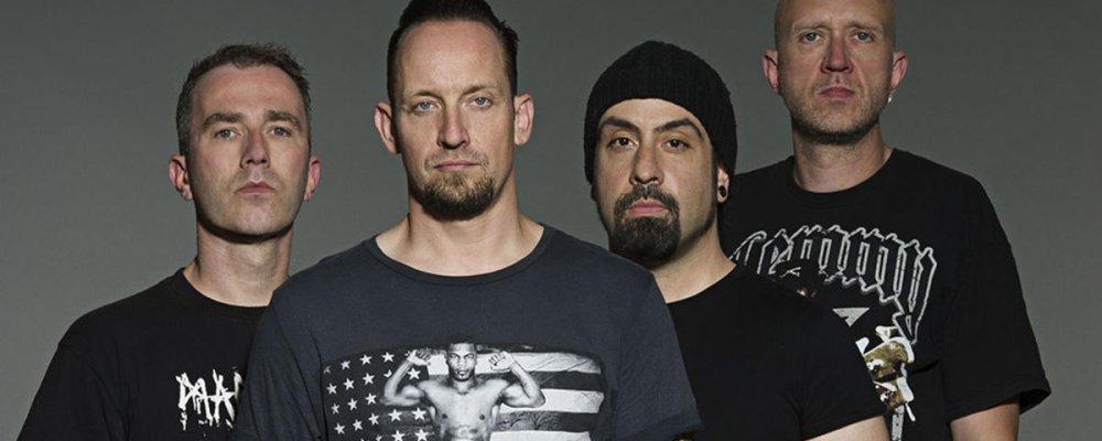Концерт Volbeat в Праге
