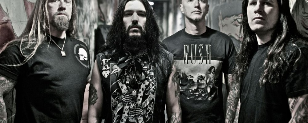 Концерт Machine Head в Праге