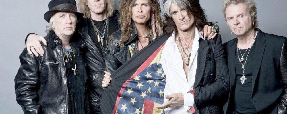 Концерт Aerosmith в Праге