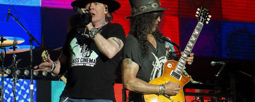Концерт Guns N' Roses в Праге