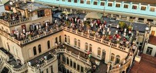 Крыша дворца «Луцерна»