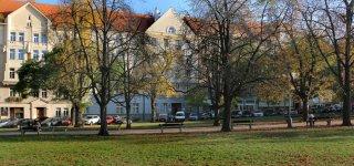 Площадь Пушкина в Праге