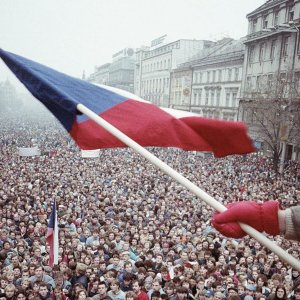 Другая Прага: хроники «Бархатной революции»