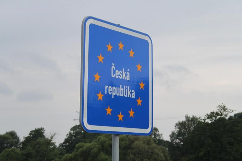 дорожный знак чешской республики