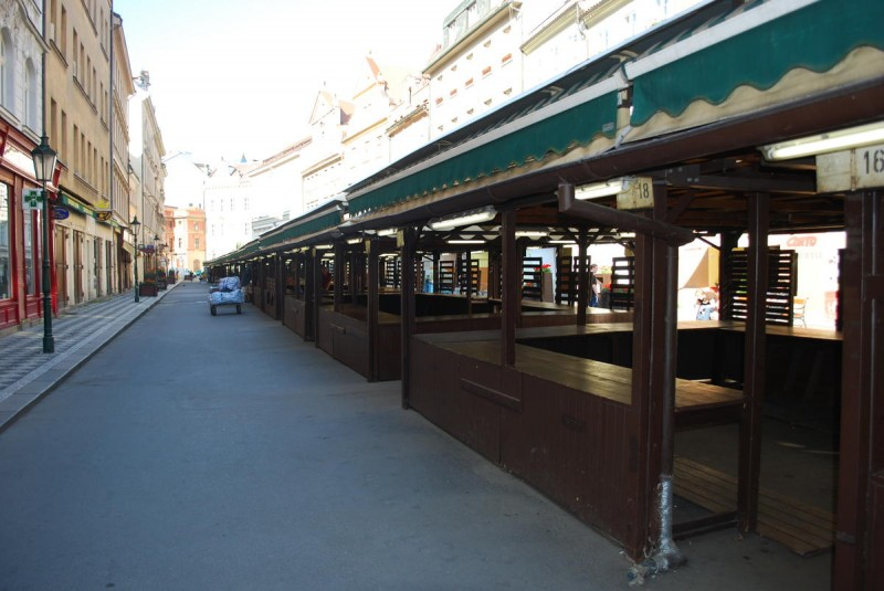Гавельский рынок - утром