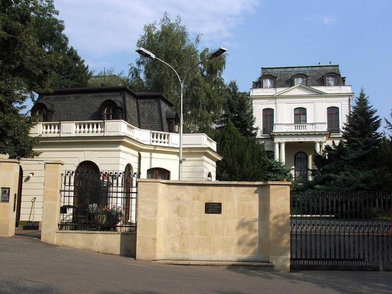 Посольство России в Праге 1