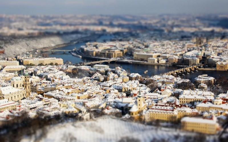 Фотографии зимней Праги 8