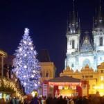 Зимние праздники в Праге