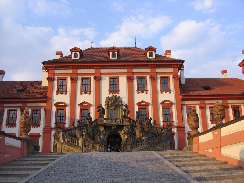 Тройский замок в Праге