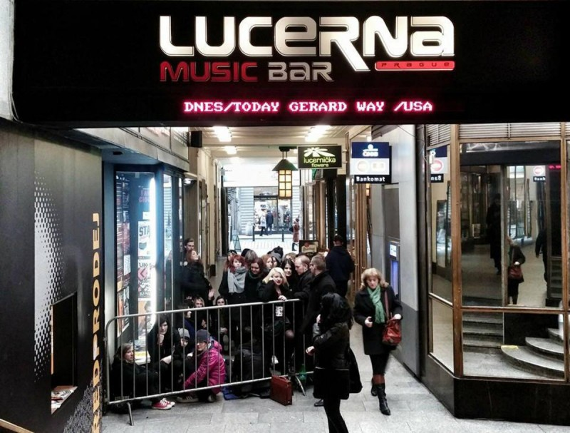 Клуб Lucerna Music Bar 1