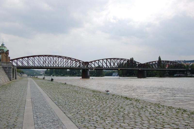 Вышеградский железнодорожный мост 3