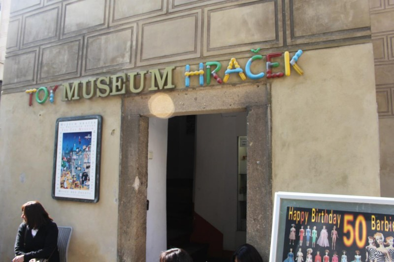 Музей игрушек в Праге - вход