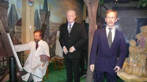 Музей восковых фигур в Праге - Гавел