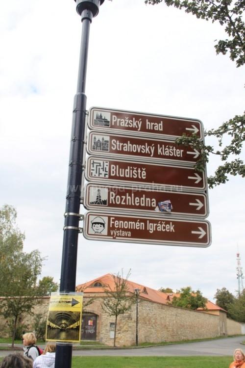 Достопримечательности холма Петршин