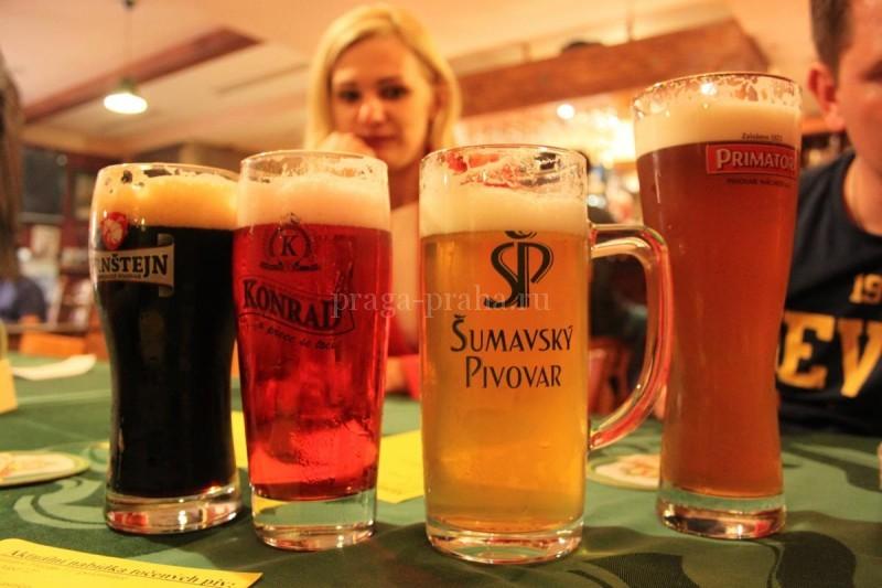 Пивная У принца Мирослава - пиво 3