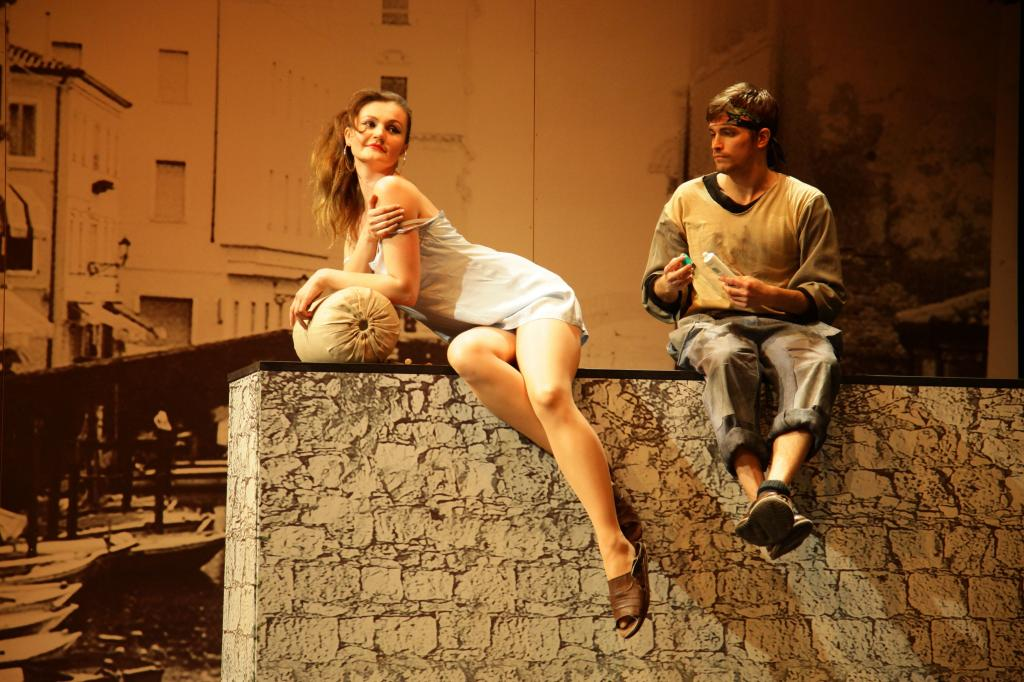 Национальный театр Праги - актёры
