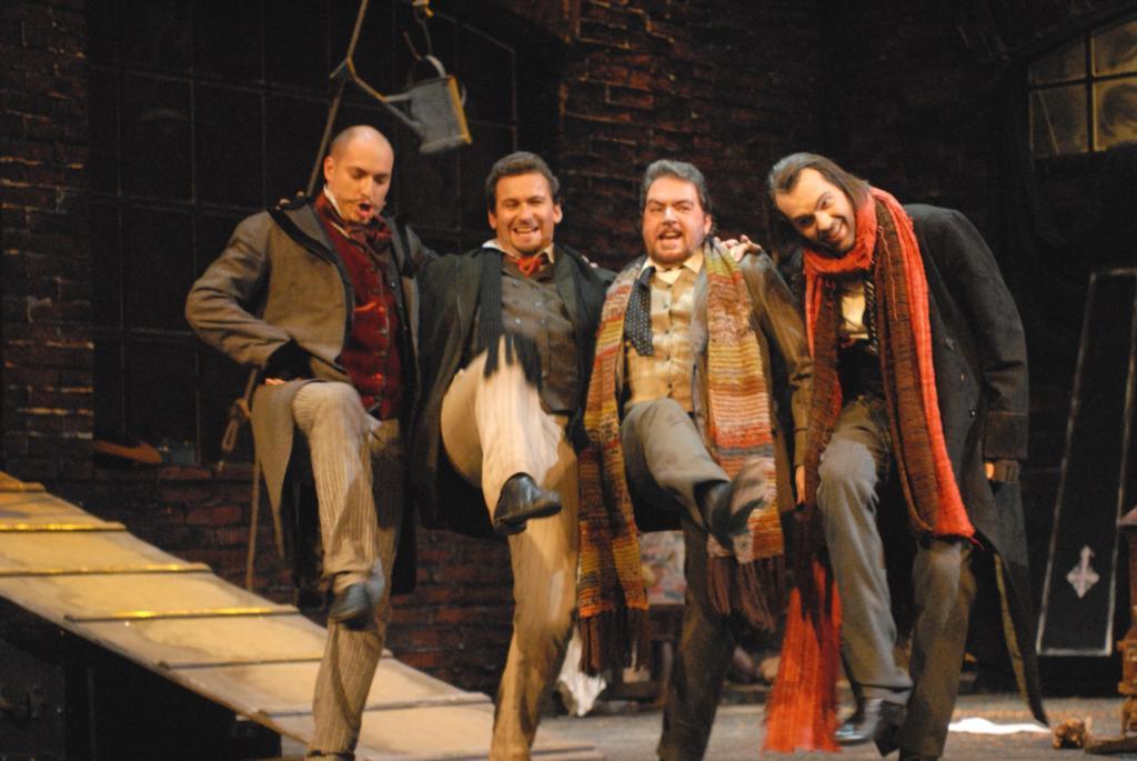 Национальный театр Праги - сценка