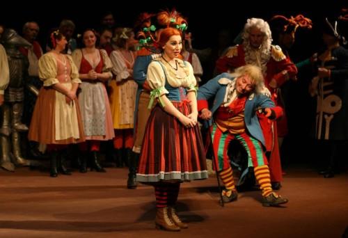 Театр Laterna magika - сценка