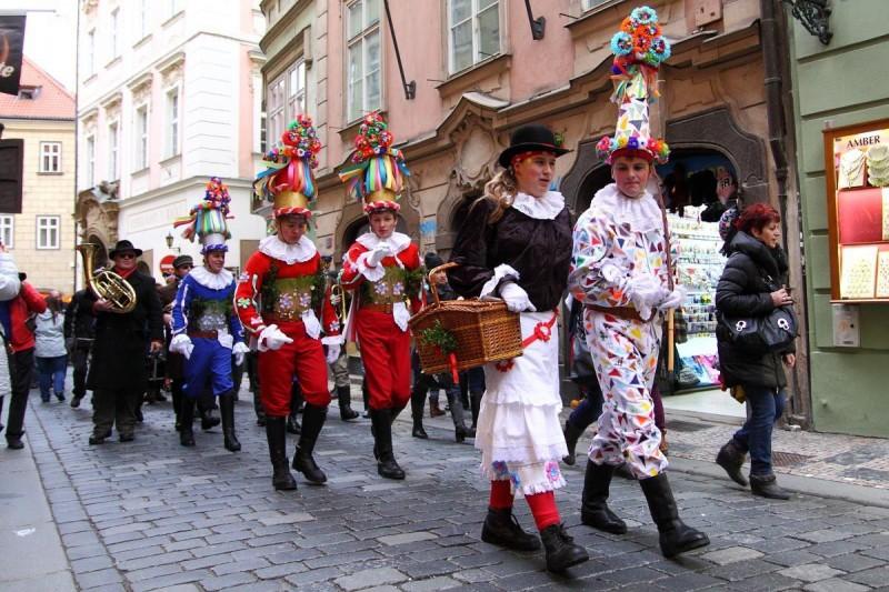 Масопуст в Праге 3