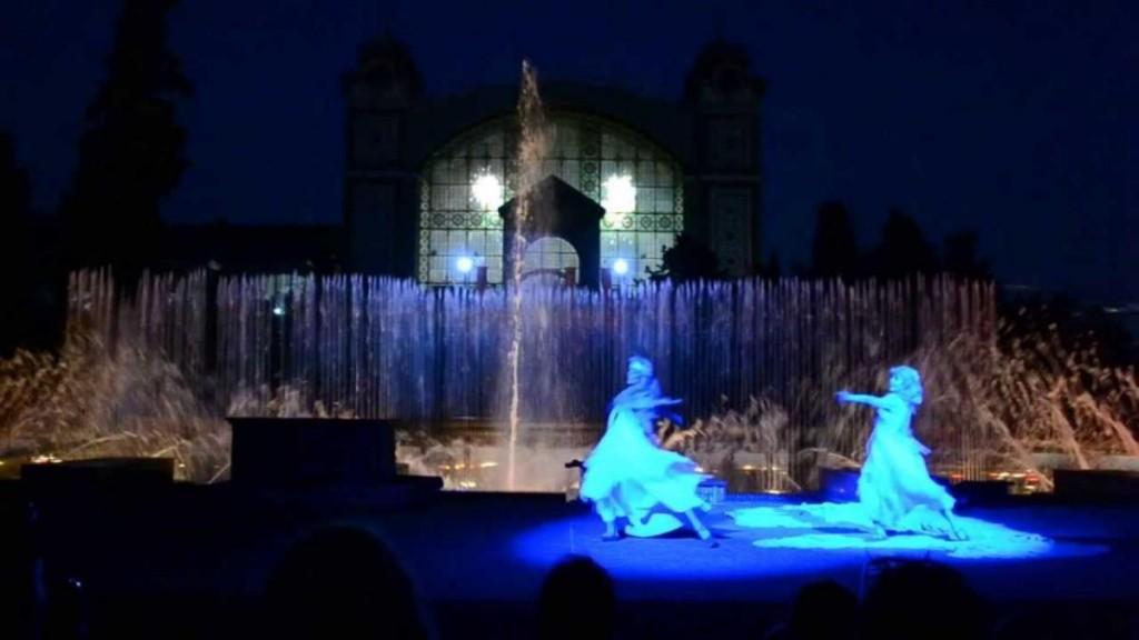 Кржижиковы фонтаны - танцоры
