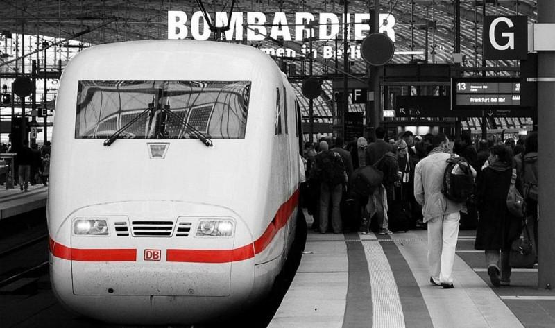 Из Берлина в Прагу на поезде