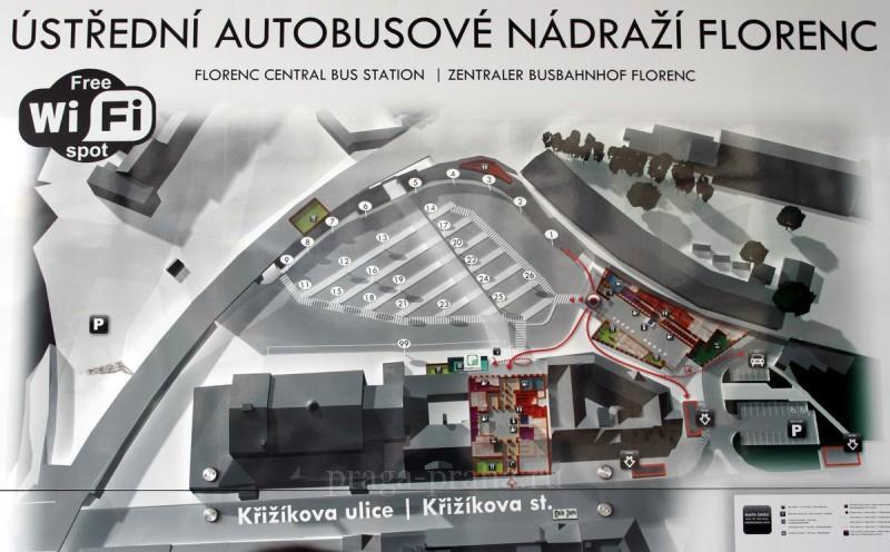 Автовокзал Флоренц 29