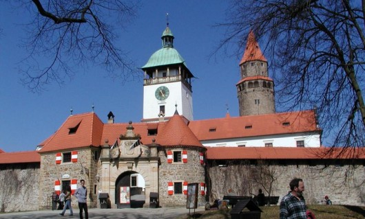 Замок Боузов