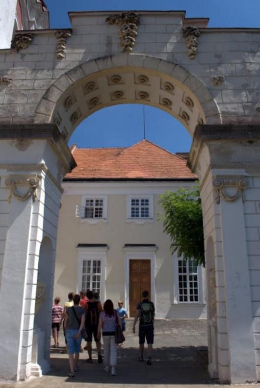 Замок Вранов-над-Дыей - ворота