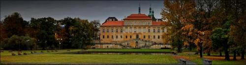 Замок Духцов - панорама