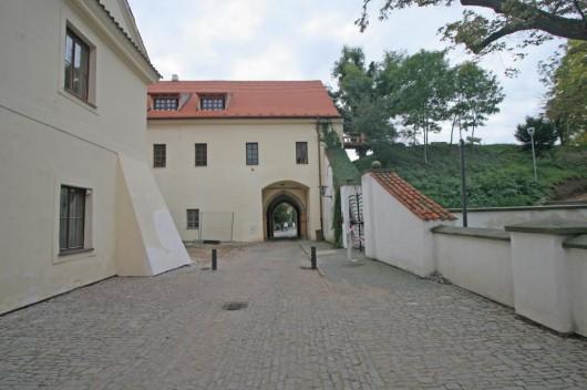 Замок Пардубице - двор
