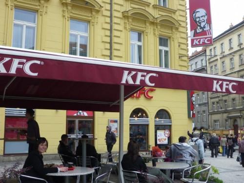 KFC в Праге