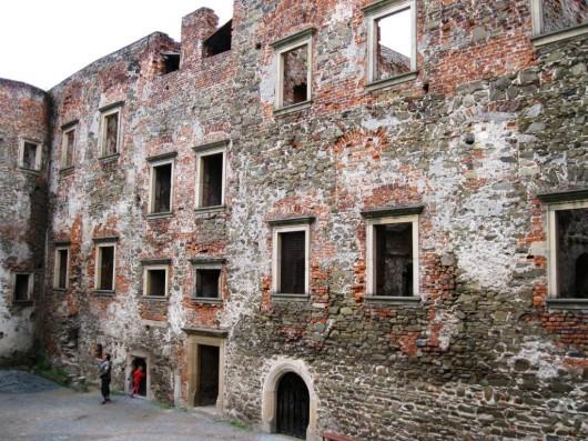 Замок Гельфштын - внутри