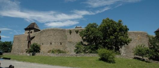 Замок Гельфштын - панорама