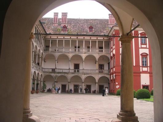 Замок Литомышль - внутри