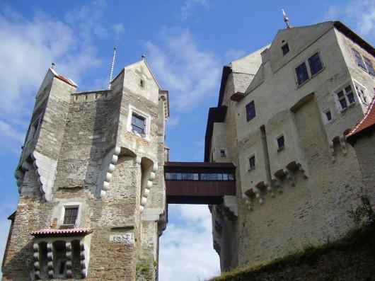 Замок Пернштейн - мост