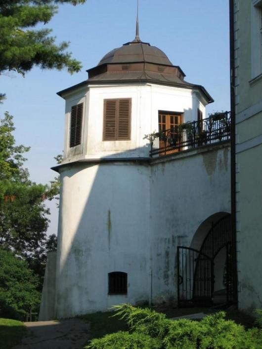 Замок Фридек - башня