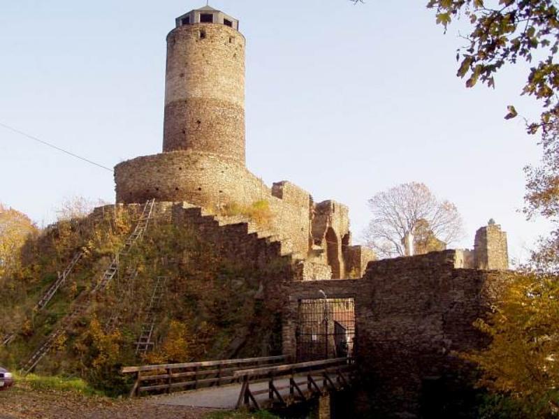 Замок Гасиштейн - сбоку