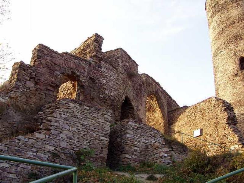 Замок Гасиштейн - стены