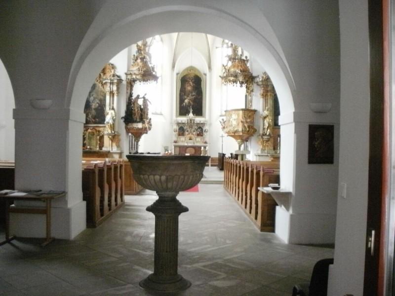 Замок Ланшкроун - внутри