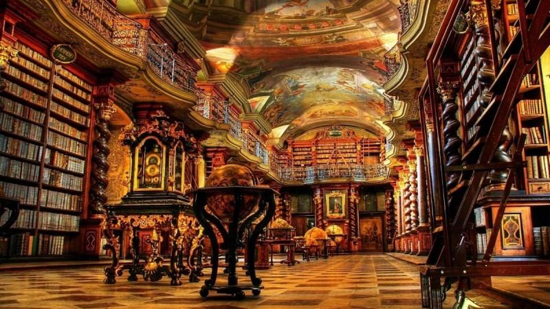 Клементинум - библиоткеа