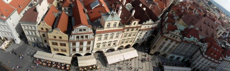 Майские праздники в Праге - площадь
