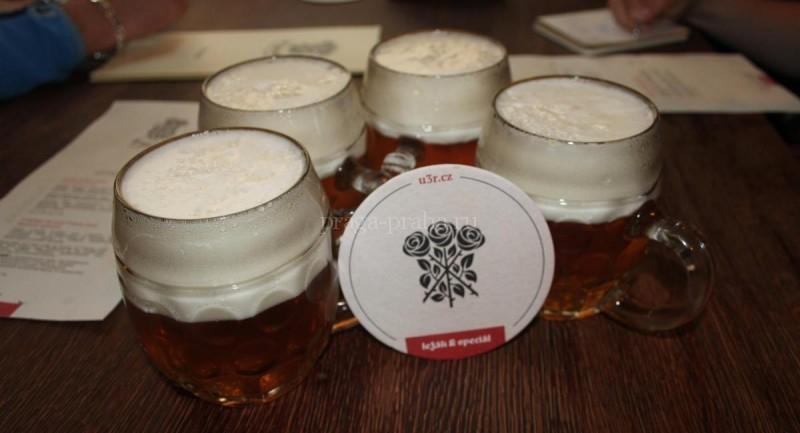 Пивная У трех роз - пиво